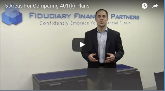 Nick Economos explores 5 areas for comparing 401(k) plans